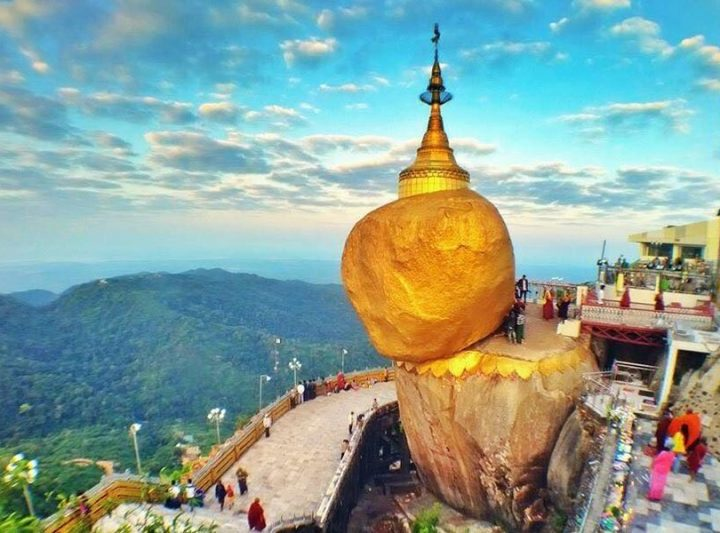 Golden Rock TEO Myanmar