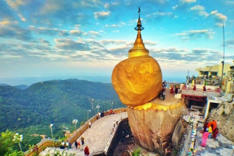 Golden Rock TEO Myanmar